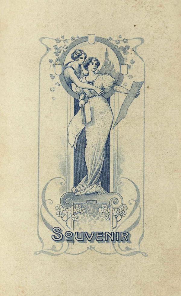 Art Nouveau Blue by Bnspyrd