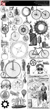 Steampunk Curios College Sheet