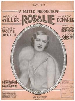 ZiegfeldFolies Cover Rosalie