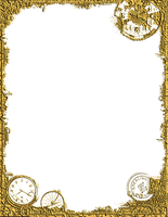 Bdr PostalSteampunk Gold PNG