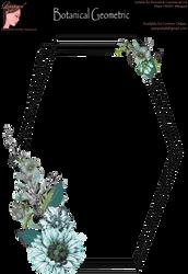 Bnspyrd GeometricFloralBorder-001b by Bnspyrd