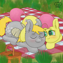 Derpy and Fluttershy