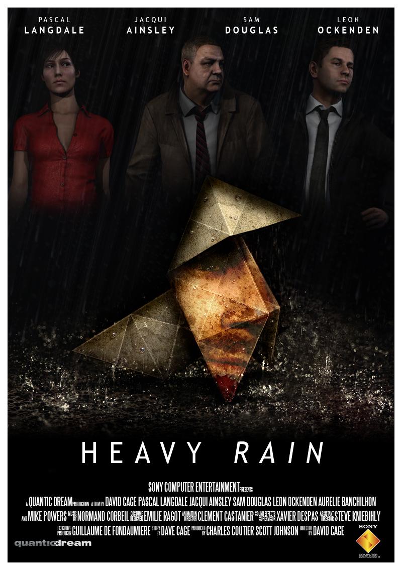 Heavy Rain Film Poster