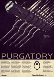 Mass Effect Purgatory Vintage Poster by Titch-IX