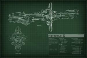 EVE Online Hyperion Schematics by Titch-IX