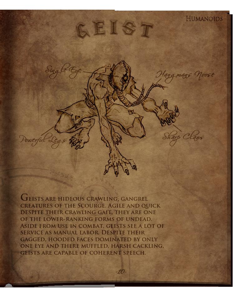 World of Warcraft - Geist by Titch-IX