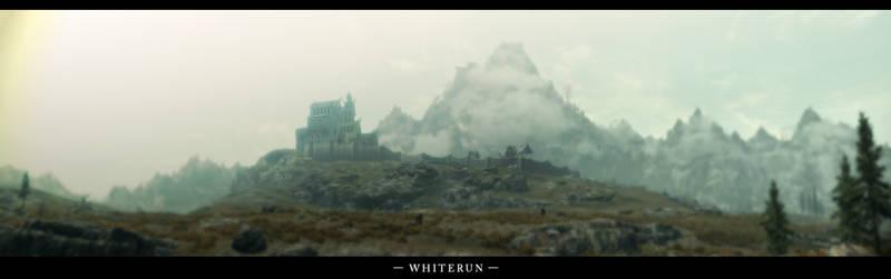 The Elder Scrolls V Skyrim Whiterun Panorama