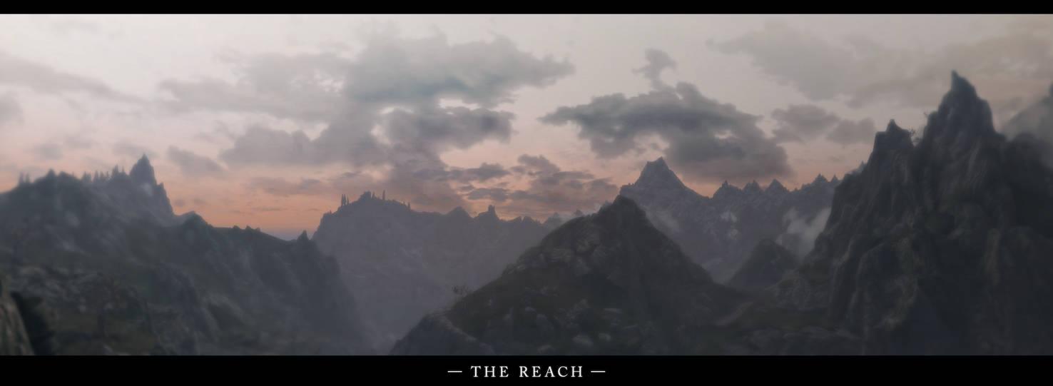 The Elder Scrolls V Skyrim The Reach Panorama