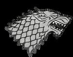 Game of Thrones House Stark Sigil Render