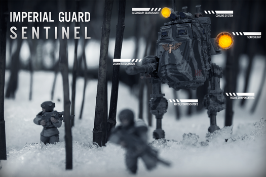 Imperial Guard Sentintel