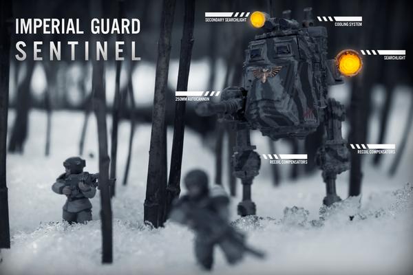 Imperial Guard Sentintel