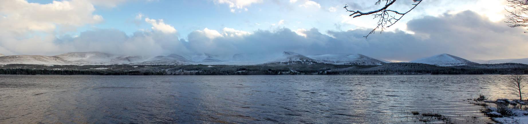 Loch Morlich Panorama