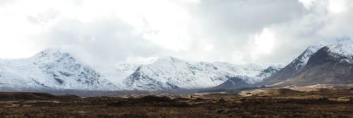 Panorama - Blackmount, Scotland