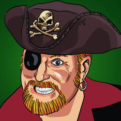 Self Portrait as a Pirate by ministan