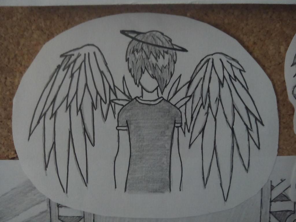 Emo Angel by albimola