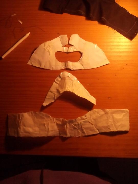 Kaneki's mask pattern 2 by albimola