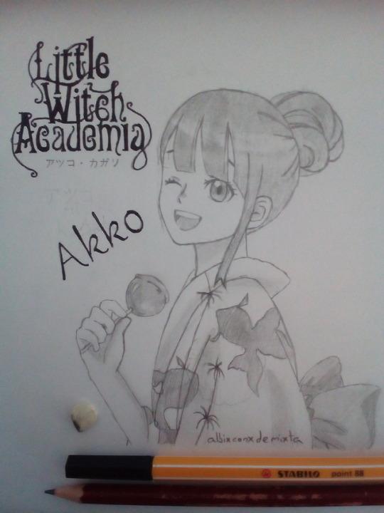 Akko by albimola