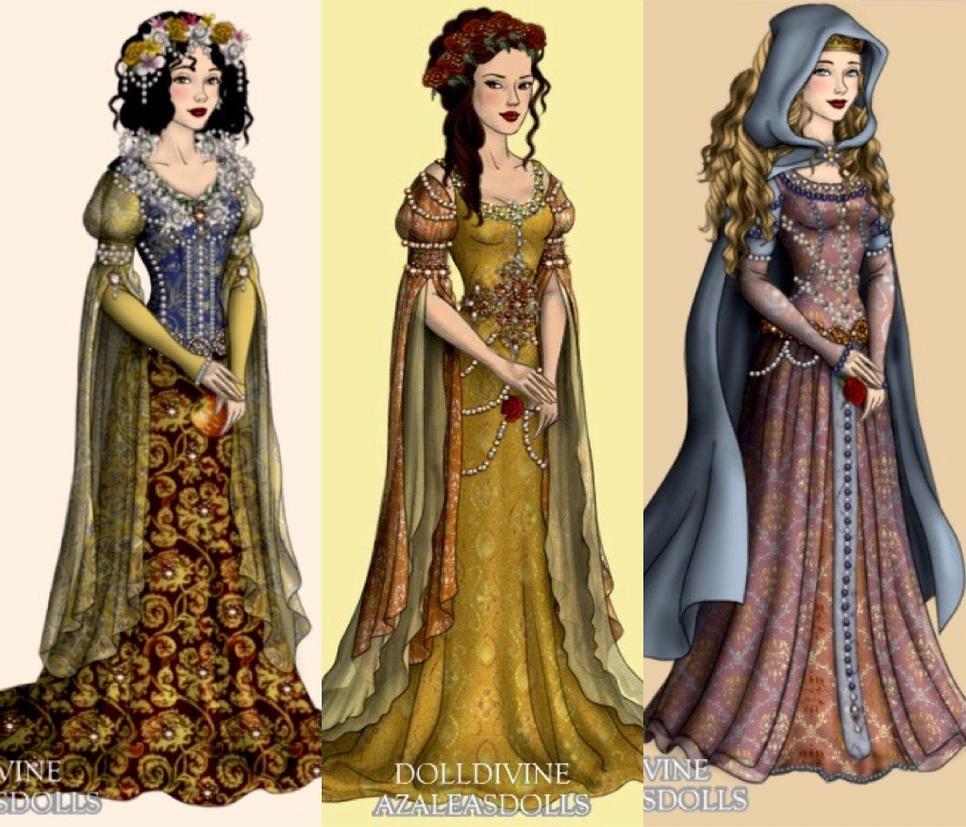 Princesses by eleonoraisabelle
