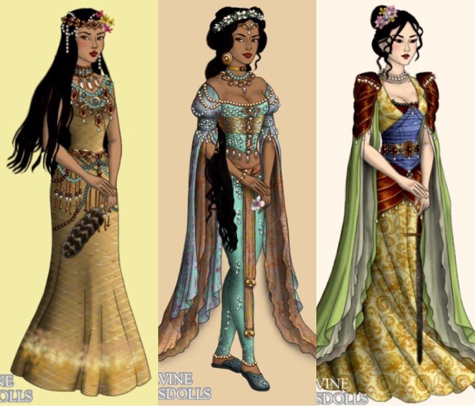 Princesses 2 by eleonoraisabelle