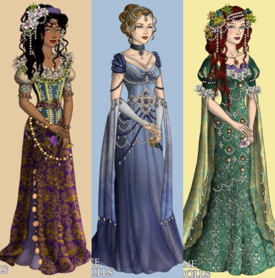 Princesses 3 by eleonoraisabelle