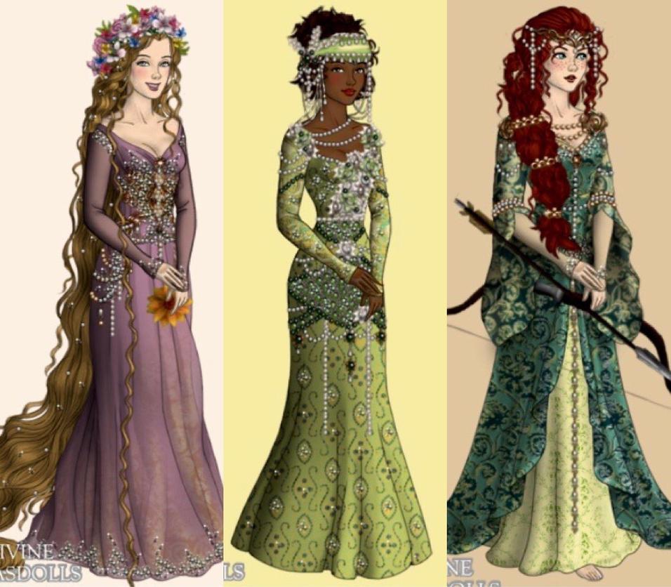 Princesses 4 by eleonoraisabelle