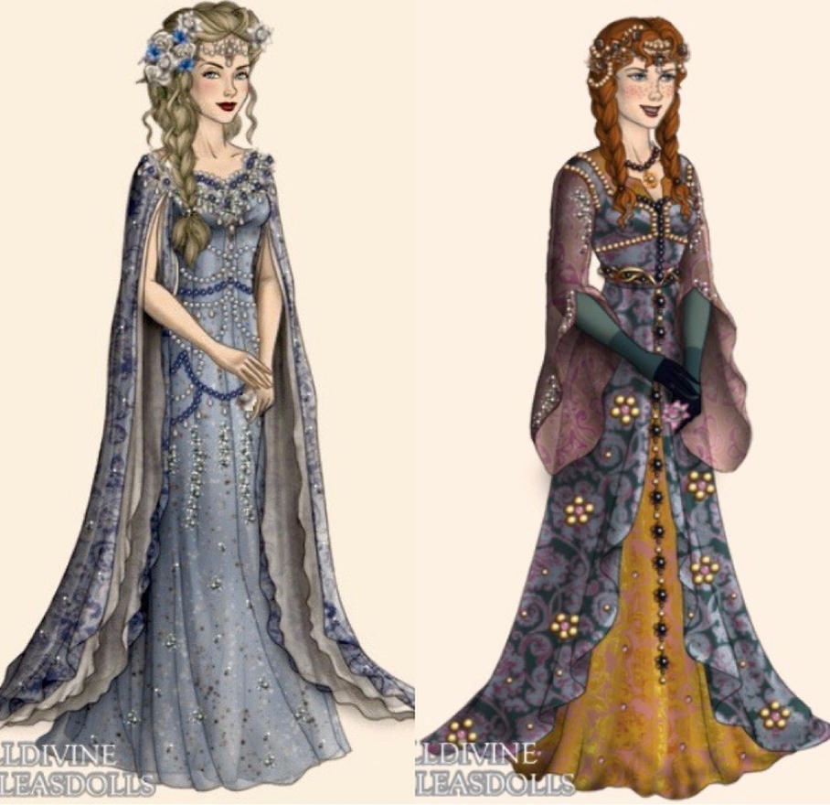 Princesses 5 by eleonoraisabelle