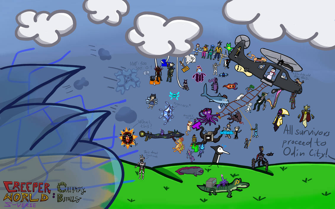 Creeper World S-Verse: Calamity Befalls