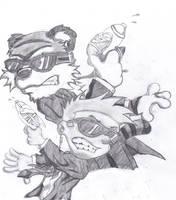 Calvin and Hobbs by Darkwolfreaper