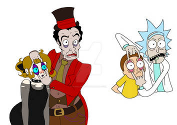 Rick and Morty parody by Ivana-Milay