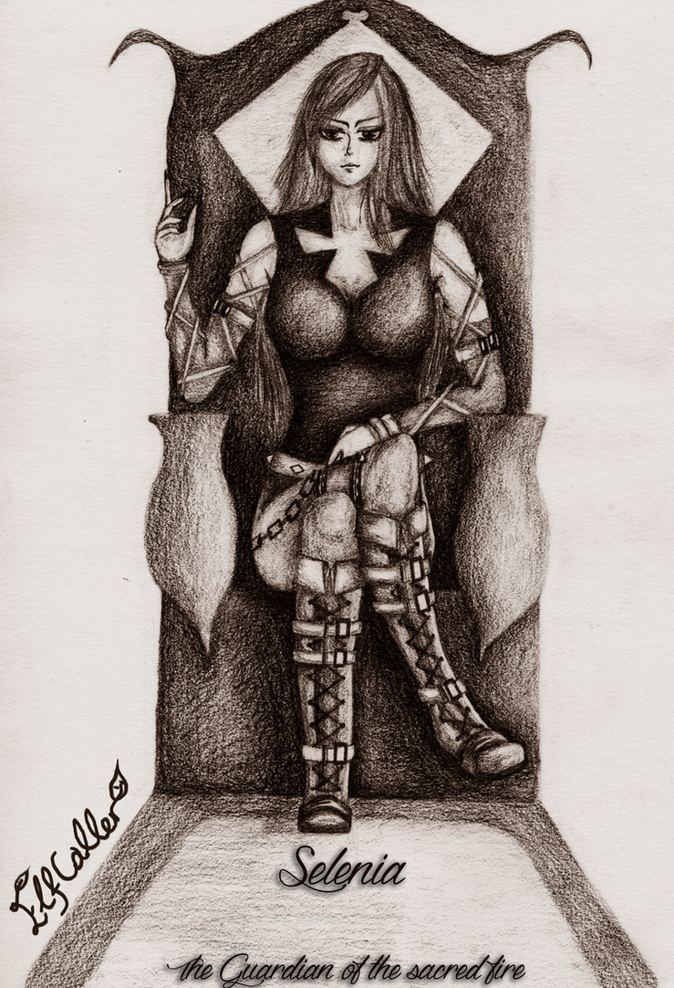 Selenia The sentinel by ElfCaller