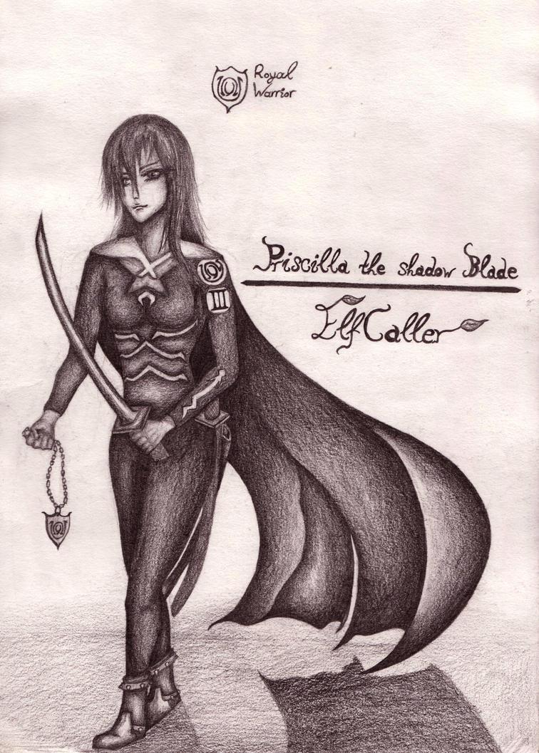 Priscilla the Shadow Blade by ElfCaller