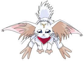 Shyn-Ohki, the white cabbit by Koshoku