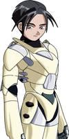 Kurogawa Kenji, Male hardsuit