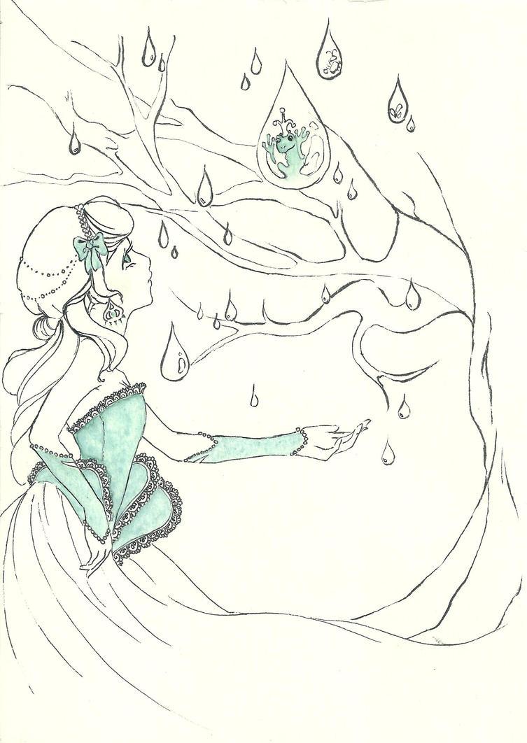 Snigelprinsessan o grodan by m00gli