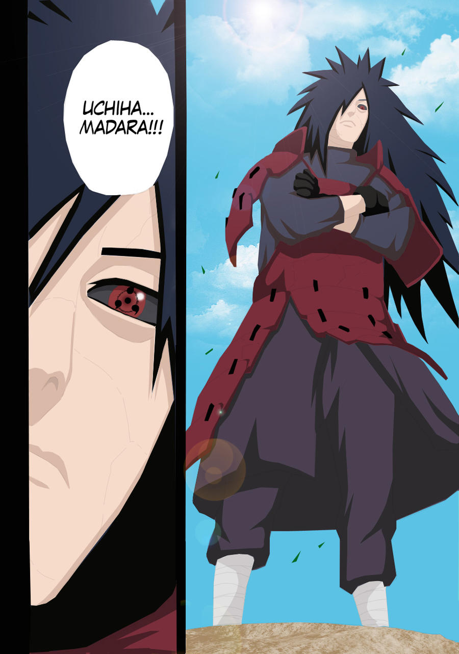 Manga 559 Madara in Edo Tensei by matheus-san