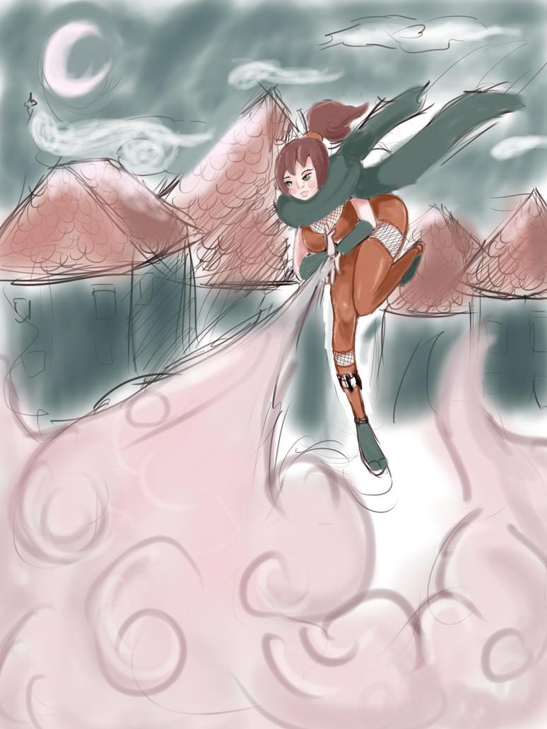 Ninjacloud by pieandnumbers