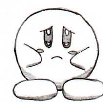 Kirby Sad by AngelDiaz95