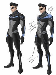 Nightwing First Concept by TTProject