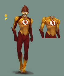Kid Flash First Concept by TTProject