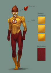 Kid Flash Final Concept by TTProject