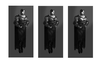 Superman First 3 Concepts by TTProject