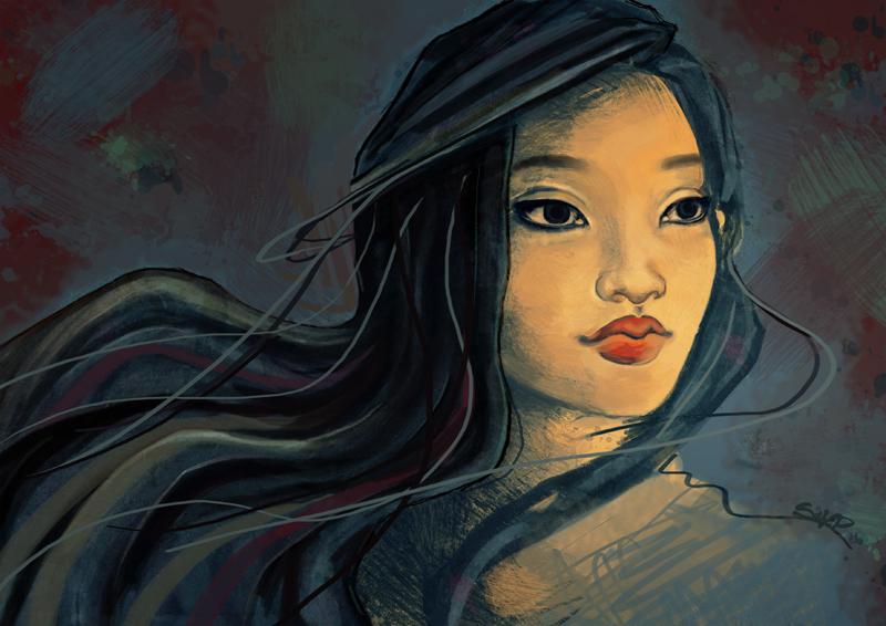 Pocahontas by siljepedersen