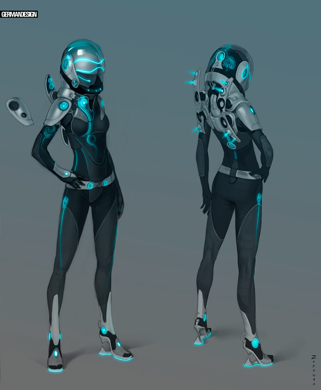 Space suit by zaryuta on deviantart for Female space suit