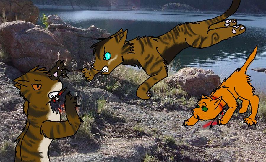 Warrior Cats Firestar Saveing Brambleclaw