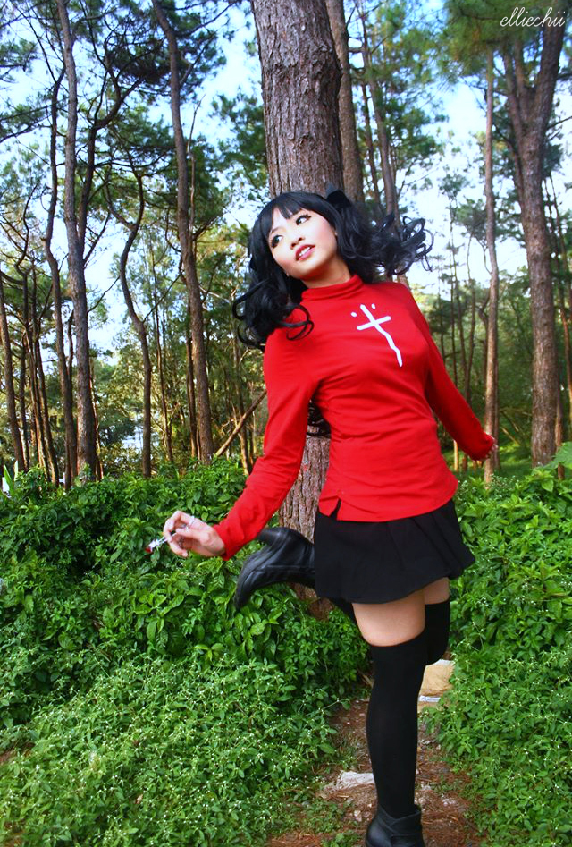 Fate/Stay Night - Rin Tohsaka I by xLostChains08