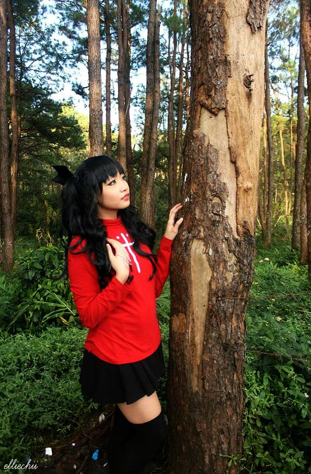 Fate/Stay Night - Rin Tohsaka II by xLostChains08