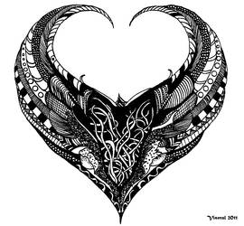 Winged Heart by Viseral