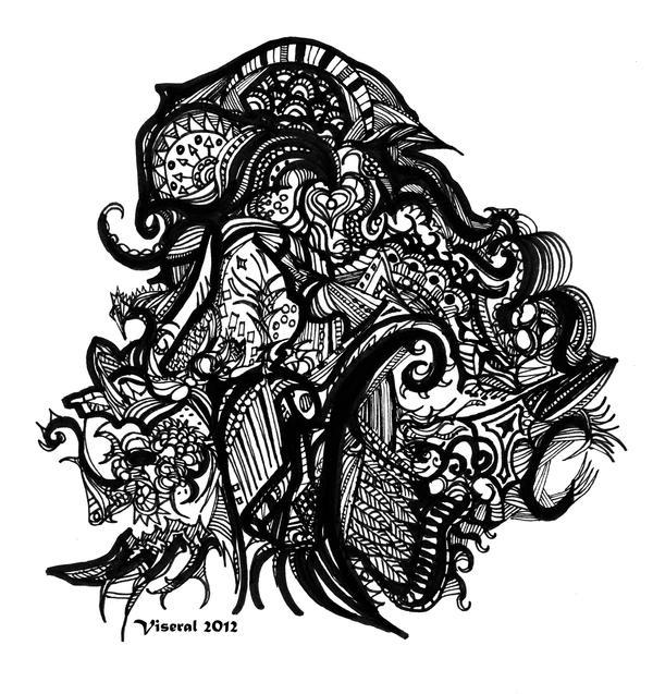 Garden Doodle by Viseral