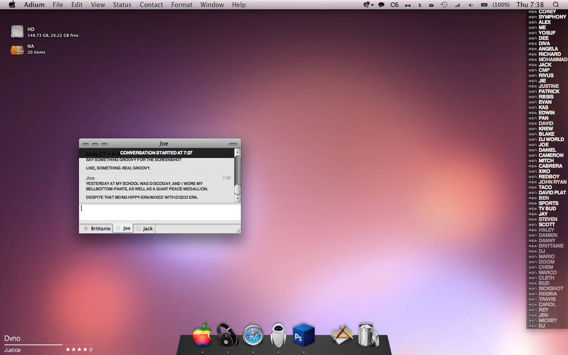 desktop - april 2009