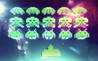 Space Invaders Remix